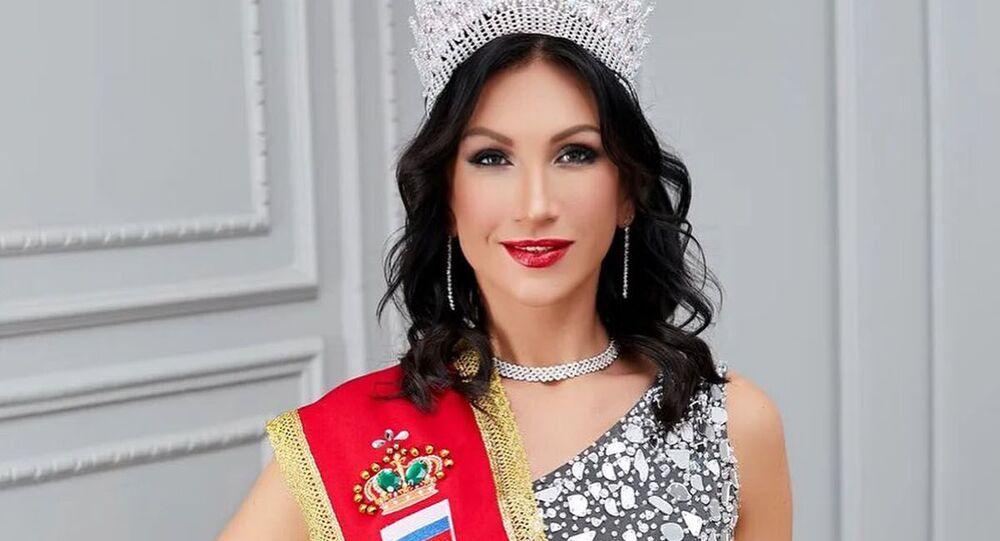 Ksenia Verbitskaya, vincitrice Mrs. Universe 2020