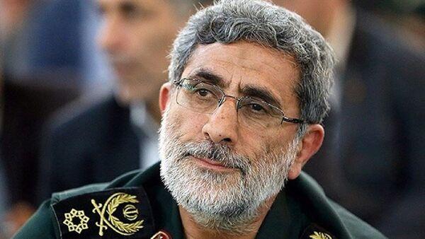 Il Generale Esmail Ghaani, il nuovo comandante delle forze Quds - Sputnik Italia