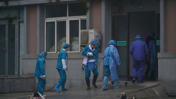Ospedale a Wuhan - Sputnik Italia