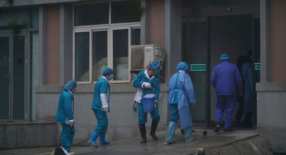 Ospedale a Wuhan