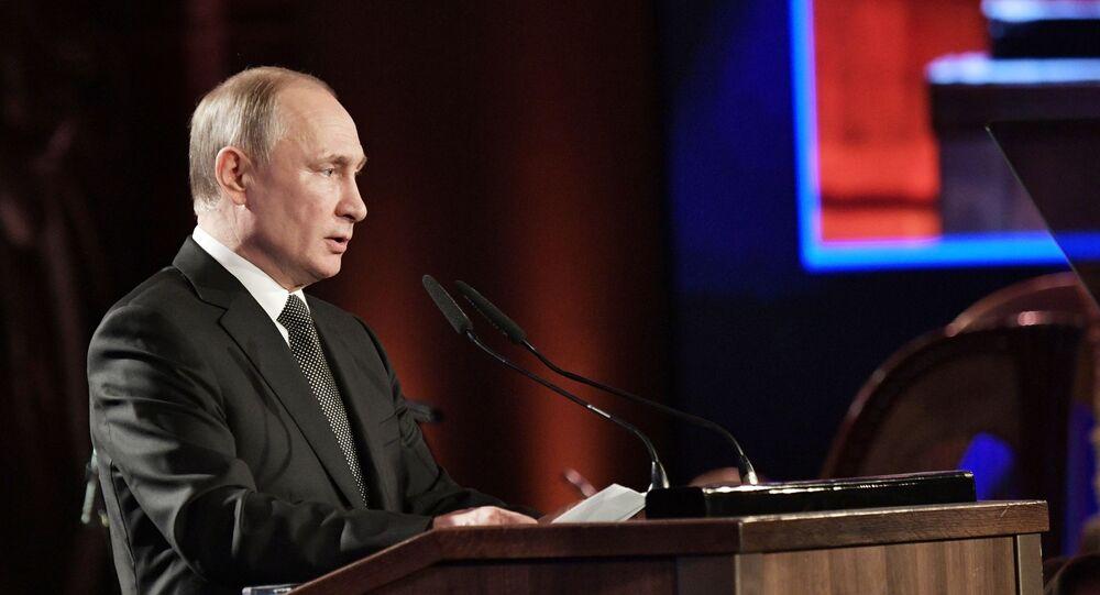 Vladimir Putin al Forum sull'Olocausto di Gerusalemme