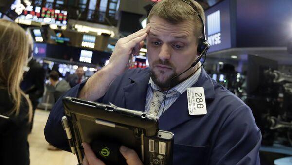 Financial Markets Fall Wall Street - Sputnik Italia