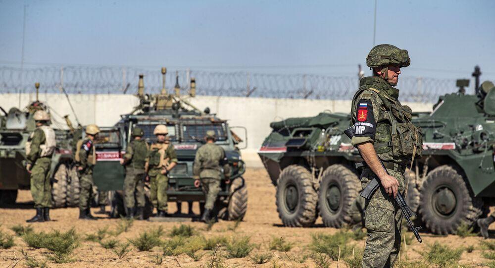 Pattuglia russa in Siria