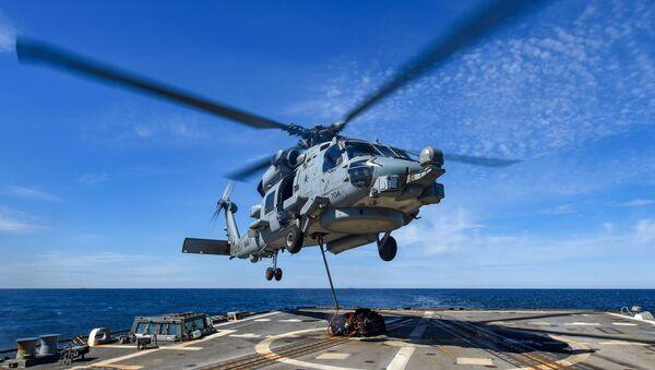 Elicottero americano MH-60R Seahawk - Sputnik Italia