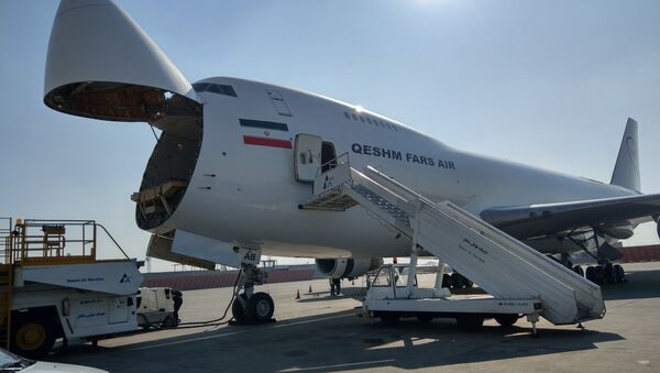 Un aereo della Qeshm Air - Sputnik Italia