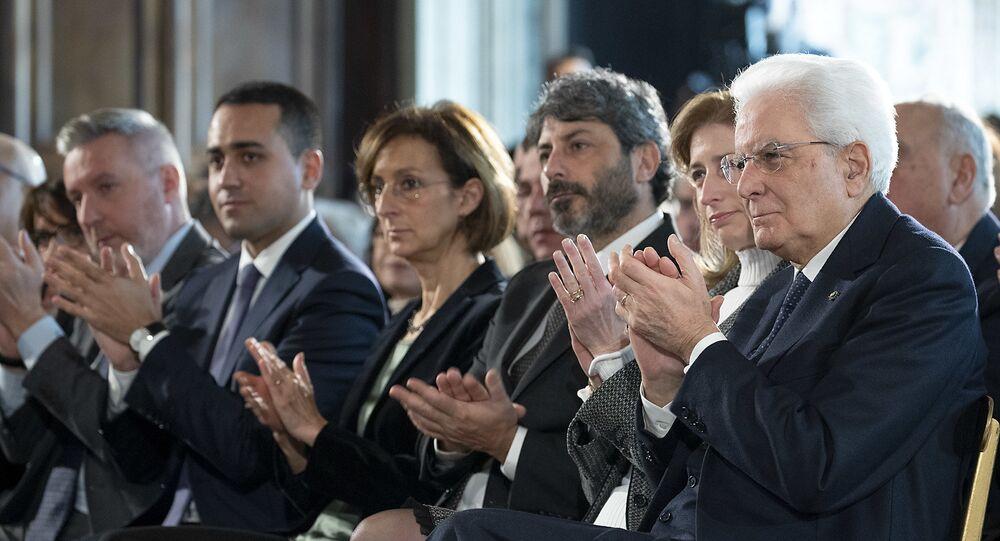 """Il Presidente Sergio Mattarella alla celebrazione del """"Giorno della Memoria"""""""