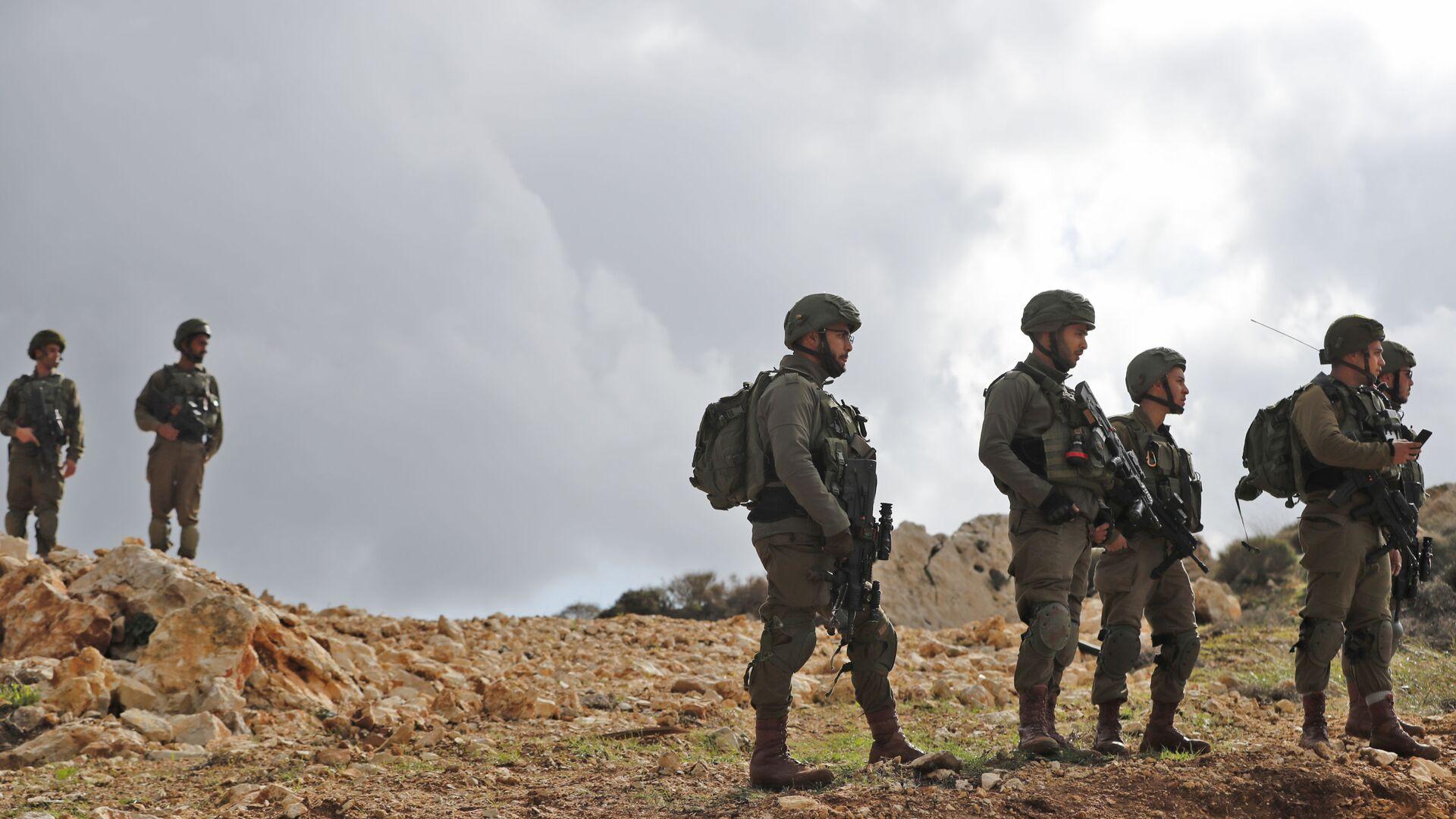 I soldati israeliani in Valle del Giordano - Sputnik Italia, 1920, 29.07.2021