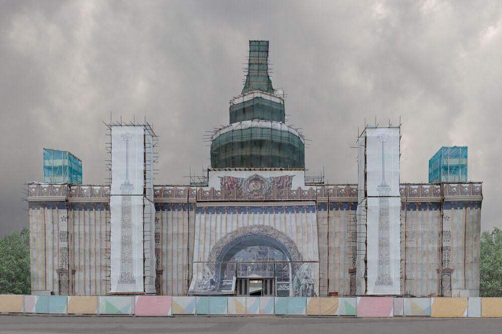 Kunststück della fotografa russa Pegova Olya