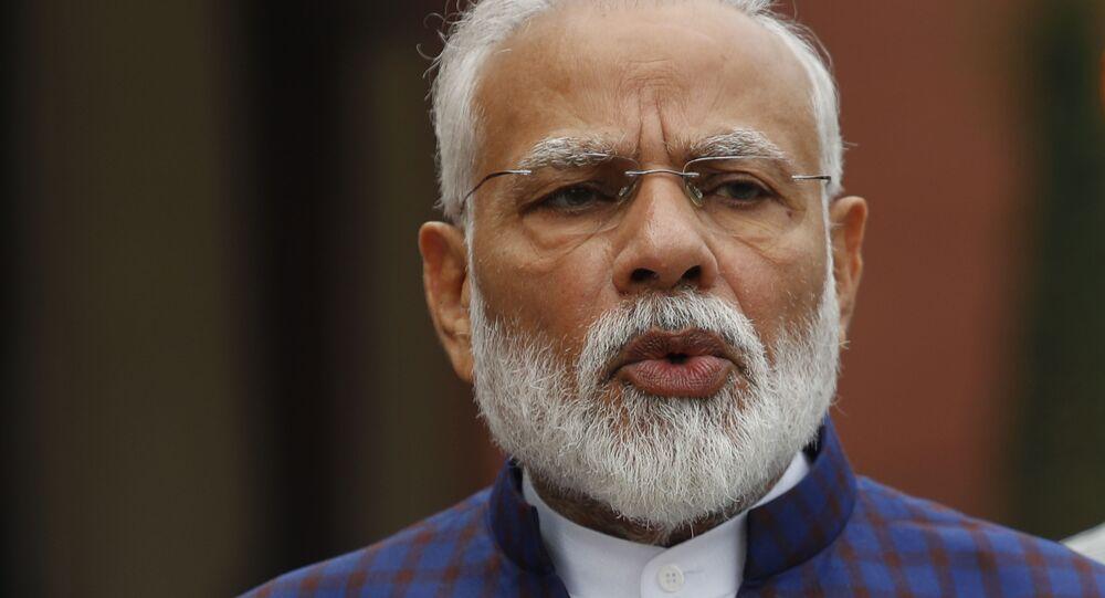 Primo ministro indiano Narendra Modi (foto d'archivio)