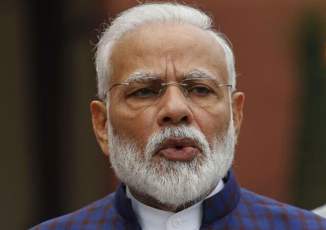 Primo ministro indiano Narendra Modi