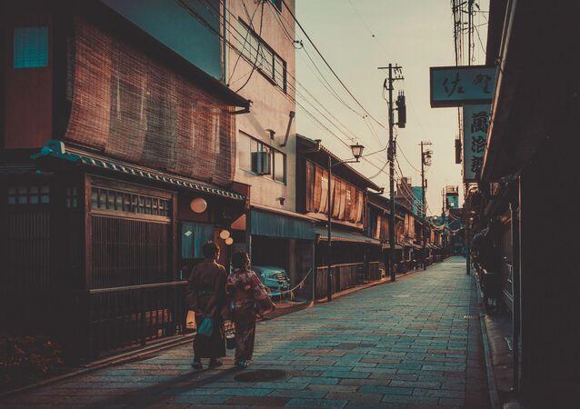 Gion, il distretto delle geisha più famoso di Kyoto, Giappone