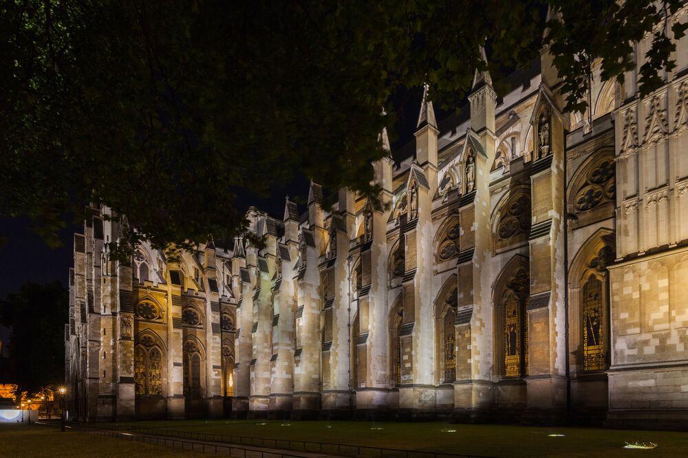L'Abbazia di Westminster, sede delle incoronazioni dei sovrani d'Inghilterra