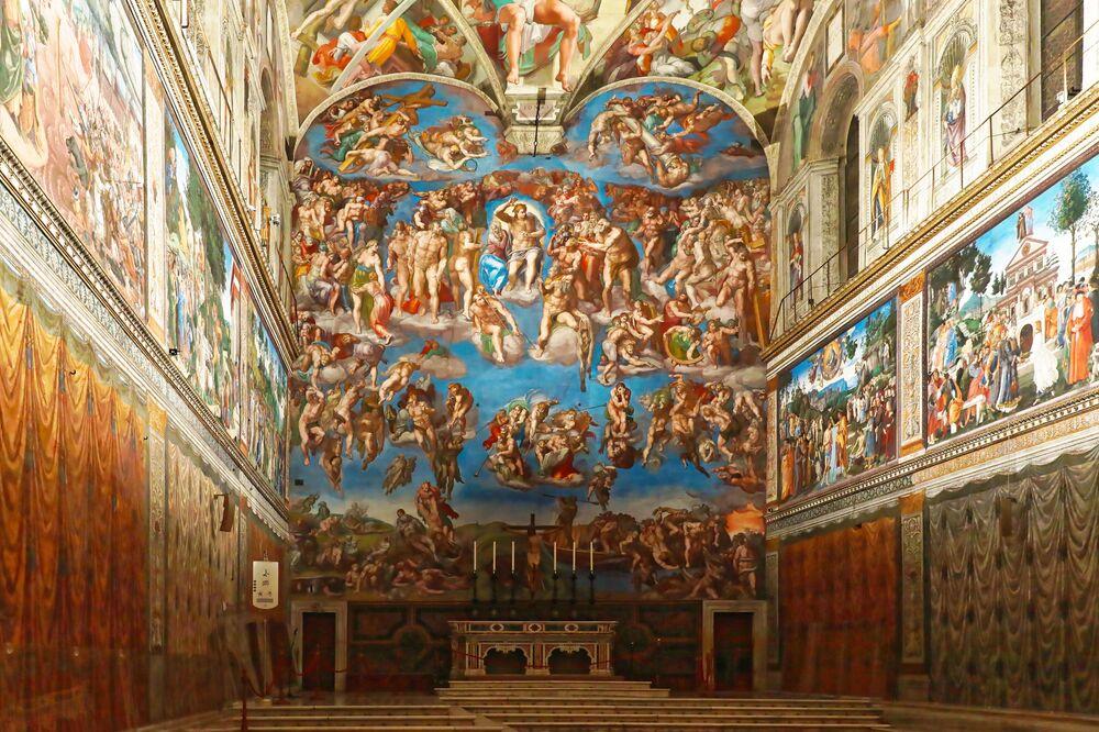 La Cappella Sistina è la principale cappella del palazzo apostolico, nonché uno dei più famosi tesori culturali e artistici della Città del Vaticano