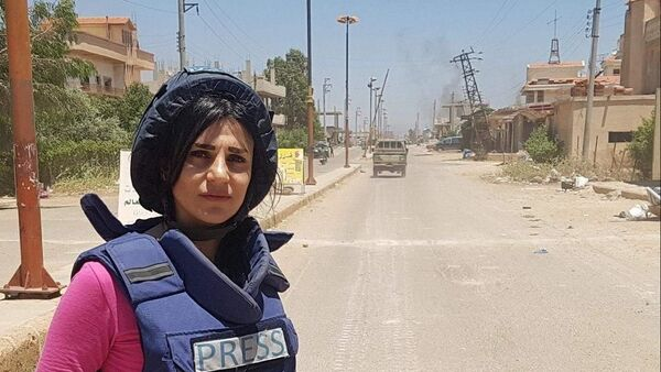 Wafa Shabrouney, corrispondente di RT - Sputnik Italia