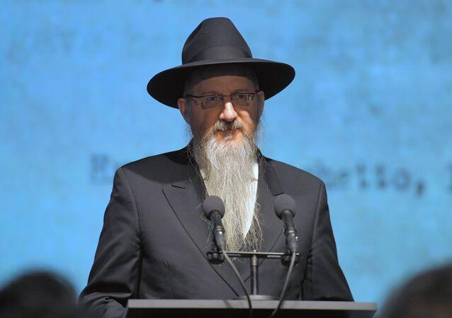 Il rabbino capo della Russia, Berl Lazar