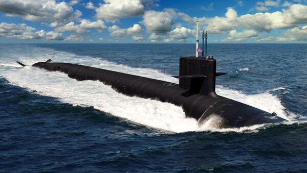 L'illustrazione del sottomarino futuro statunitense di classe Columbia - Sputnik Italia