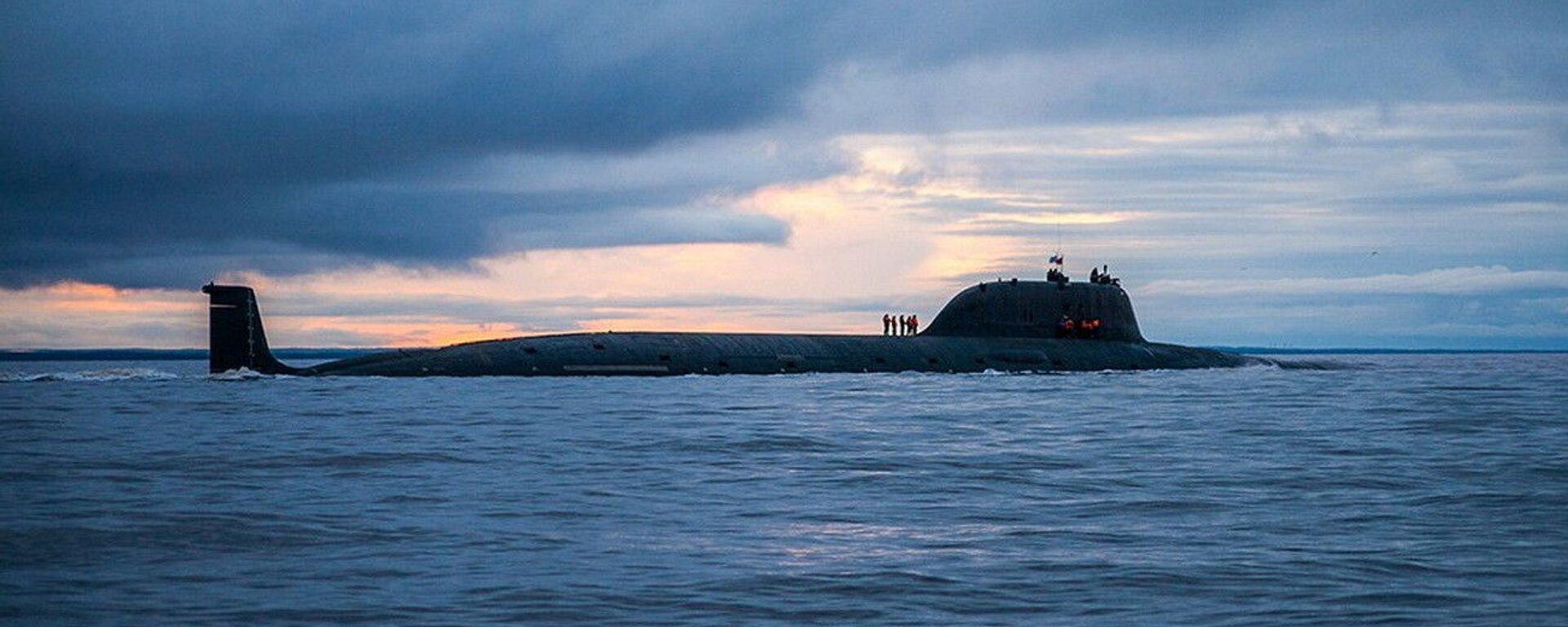 Sottomarino missilistico russo Severodvinsk del 'Progetto 885M' classe Yasen  - Sputnik Italia, 1920, 02.07.2021