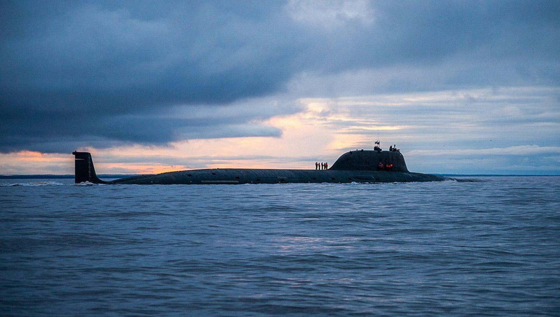 Sottomarino missilistico russo Severodvinsk del 'Progetto 885M' classe Yasen  - Sputnik Italia, 1920, 21.04.2021