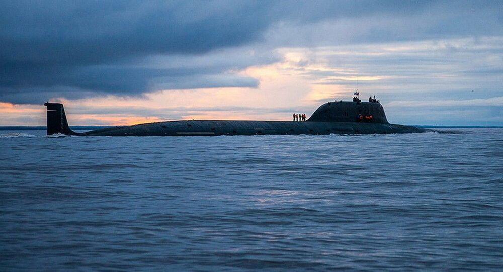 Sottomarino missilistico russo Severodvinsk del 'Progetto 885M' classe Yasen
