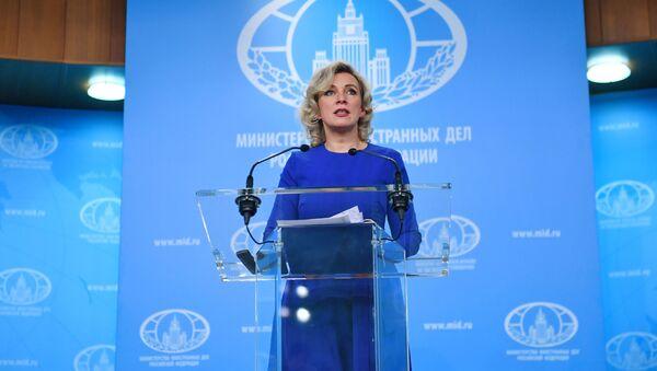 Maria Zakharova, il 30 gennaio del 2020 - Sputnik Italia