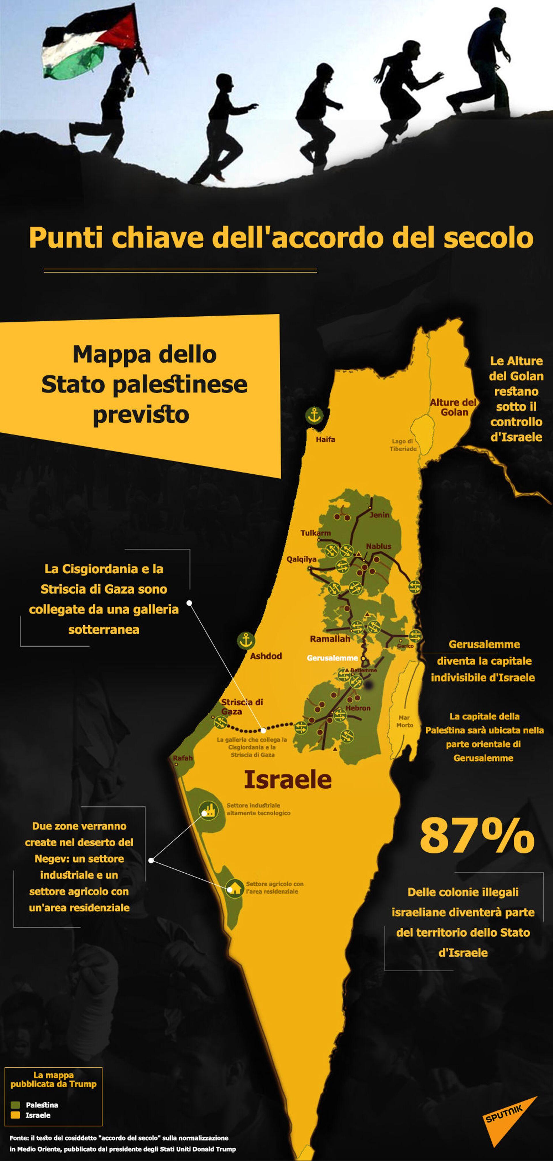 Israele-Palestina, Cina inviterà le parti del conflitto per dei colloqui - Sputnik Italia, 1920, 24.03.2021