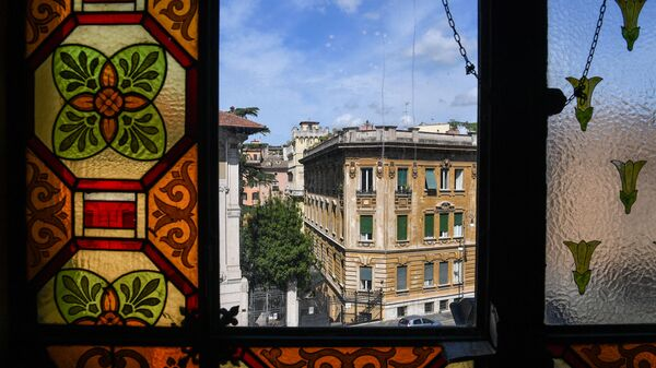 La vista dal Tempio Maggiore, la principale sinagoga di Roma - Sputnik Italia