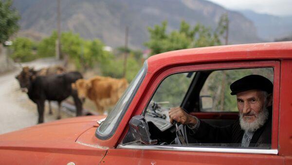Uomo anziano al volante - Sputnik Italia