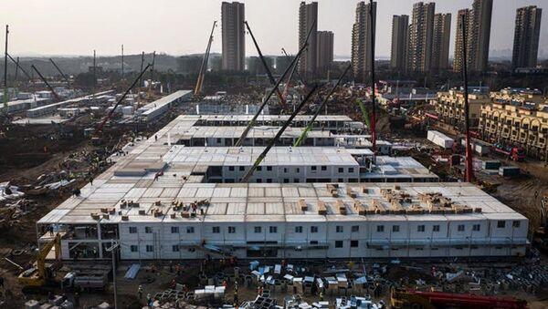 Huoshenshan, ospedale Wuhan specializzato nella lotta al coronavirus - Sputnik Italia