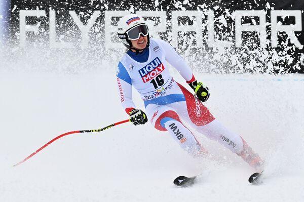 L'arrivo della sciatrice svizzera Johanna Haehlen - Sputnik Italia