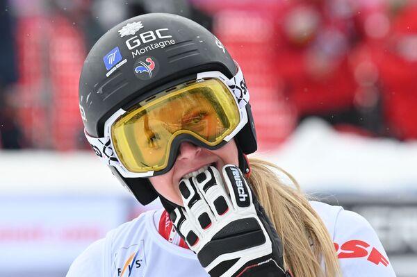 La sciatrice francese Laura Gauche - Sputnik Italia