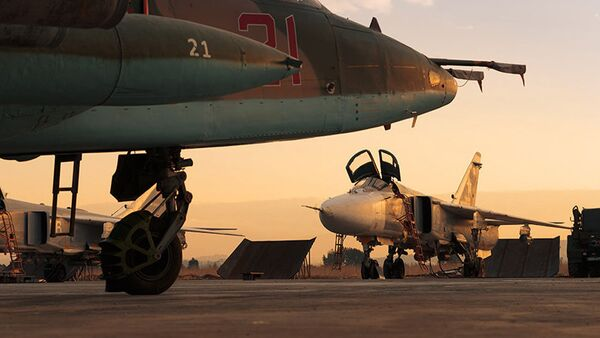 Base aerea russa Khmeimim, in Siria - Sputnik Italia