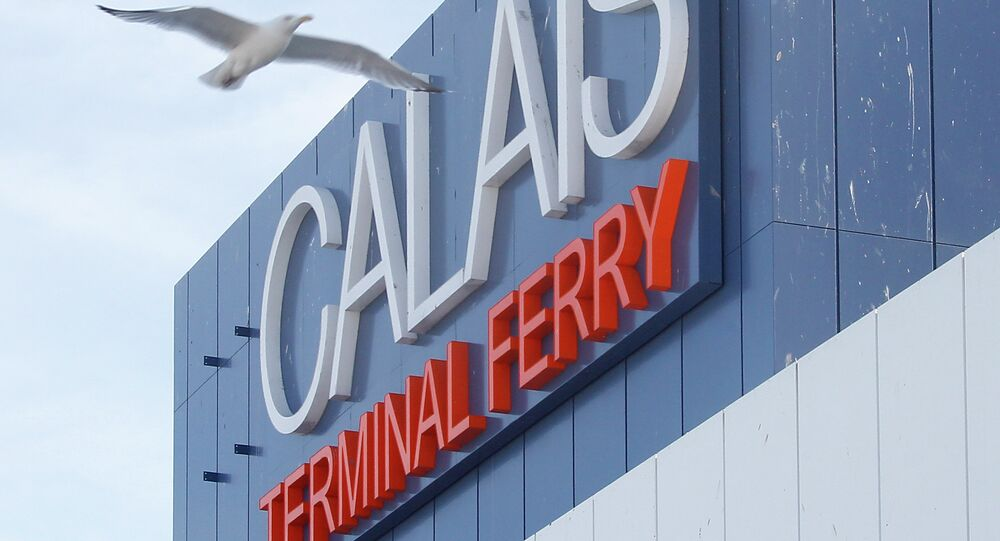 Terminal ferroviario a Calais,