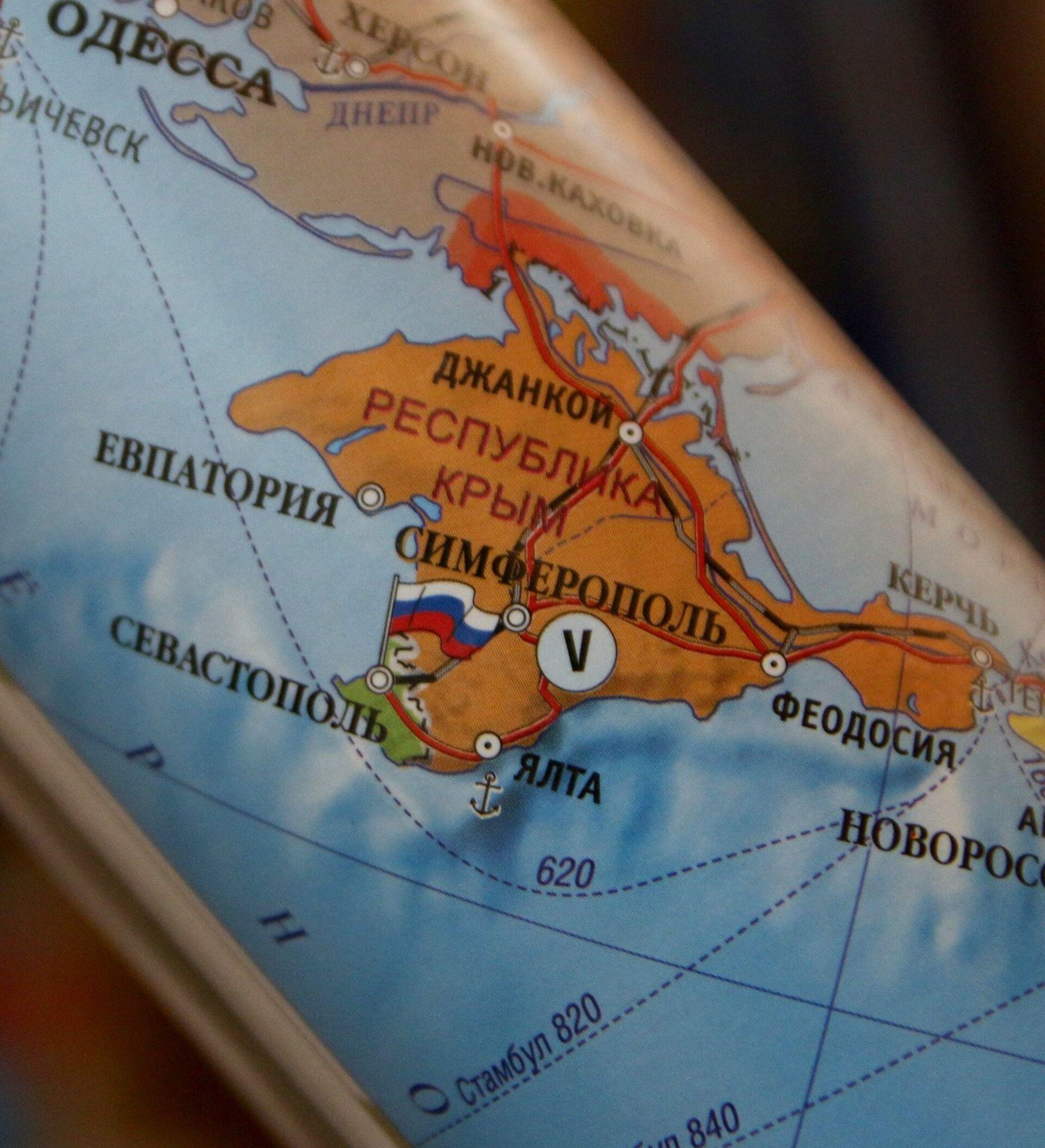Cartina Geografica Russia Ucraina.Google Riporta I Nomi Reali Sulla Carta Della Crimea 29 07 2016 Sputnik Italia