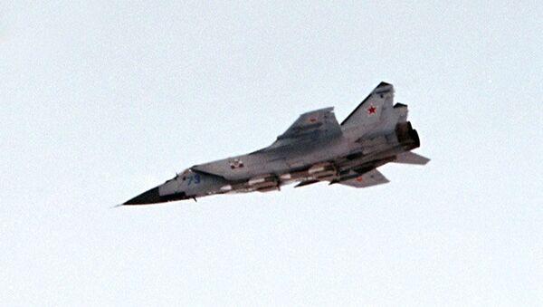 Истребитель-перехватчик МИГ-31 - Sputnik Italia