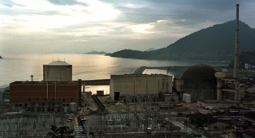 Centrale nucleare Angra-2 in Brasile