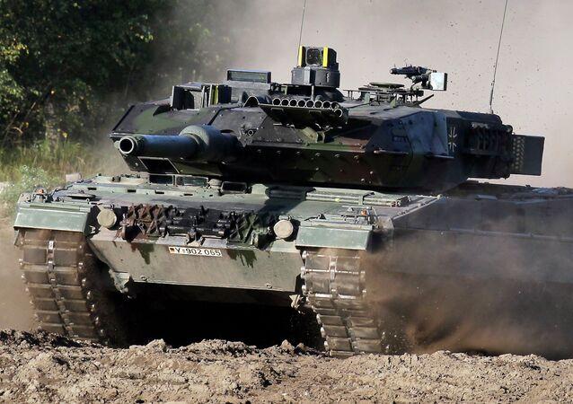 Il carro armato Leopard 2, che dovrà essere sostituito dall'MGCS