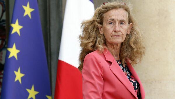 La ministra della Giustizia  Nicole Belloubet  - Sputnik Italia