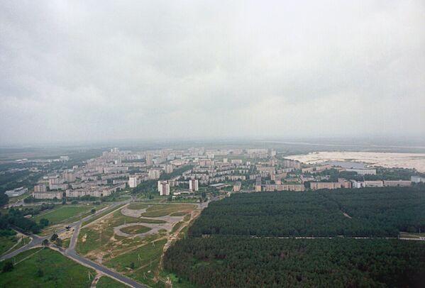 La città di Pripyat è stata fondata il 4 febbraio 1970. A Pripyat vivevano principalmente i dipendenti della centrale nucleare di Chernobyl e le loro famiglie.  - Sputnik Italia
