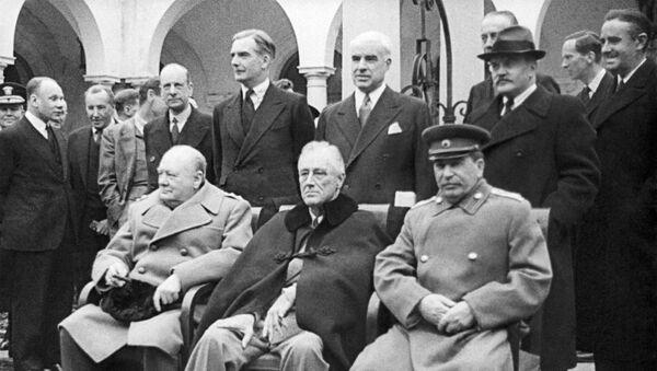 La Conferenza di Yalta, 1945 - Sputnik Italia