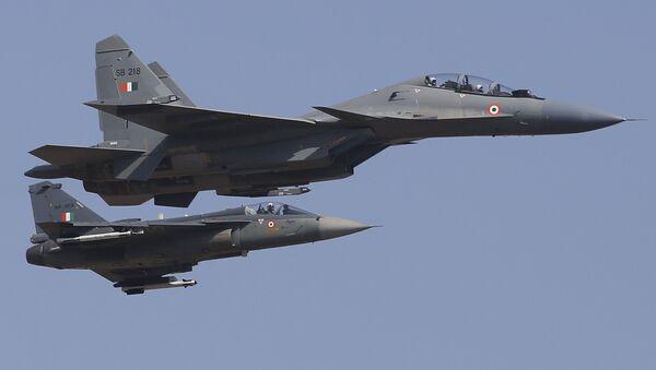 I caccia Su-30MKI della Indian Air Force - Sputnik Italia