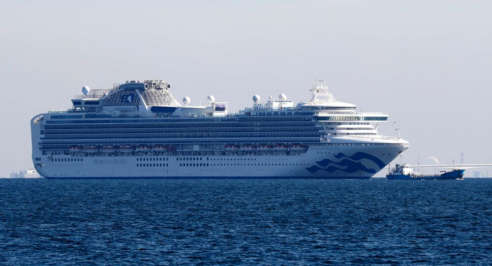 La nave da crociera Diamond Princess