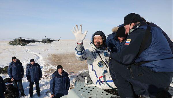 Soyuz MS-13 con Luca Parmitano è atterrata in Kazakistan - Sputnik Italia