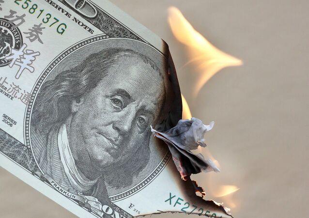 Dollaro bruciato