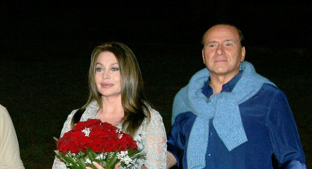 Silvio Berlusconi e Veronica Lario, 2005