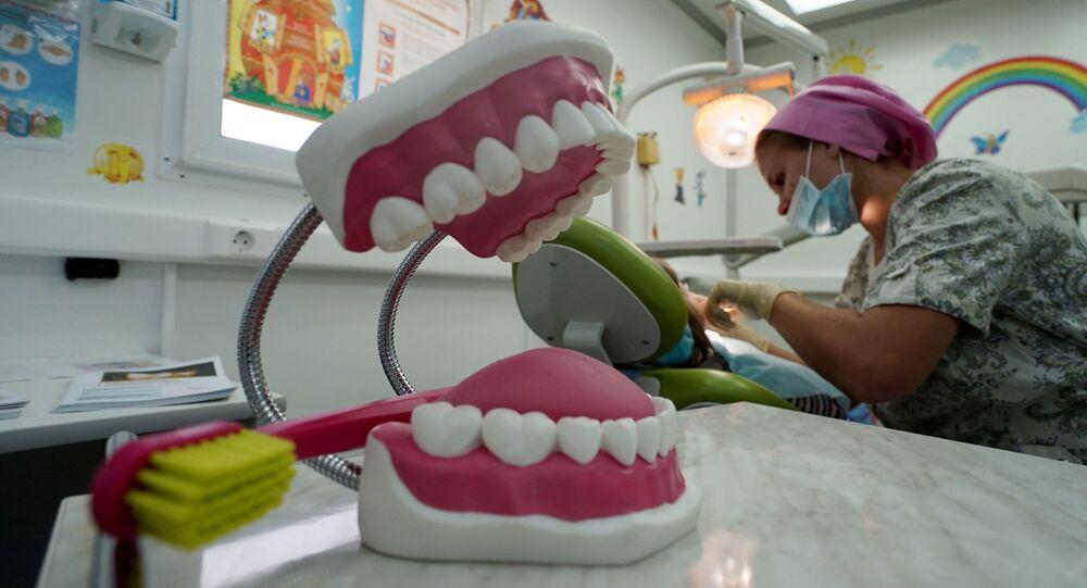 La visita dal dentista