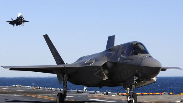 Lockheed Martin F-35A. - Sputnik Italia