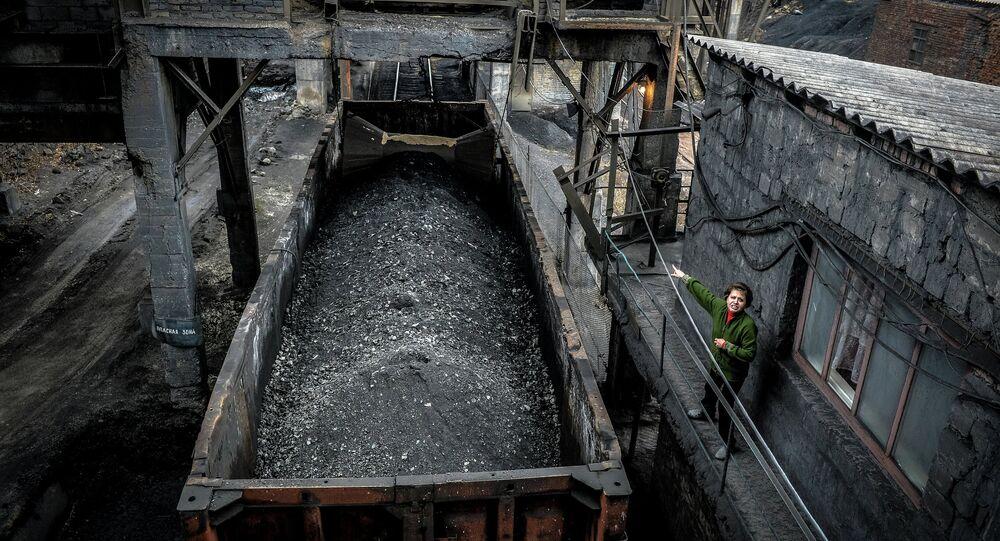 Miniera di carbone (foto d'archivio)