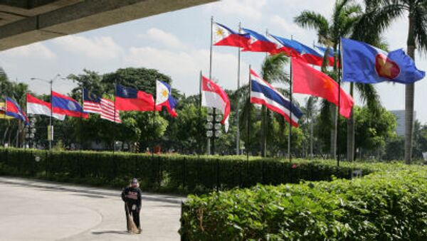 Bandiere dei Paesi Asean - Sputnik Italia