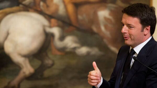 Nonostante tutto Renzi ostenta ottimismo - Sputnik Italia