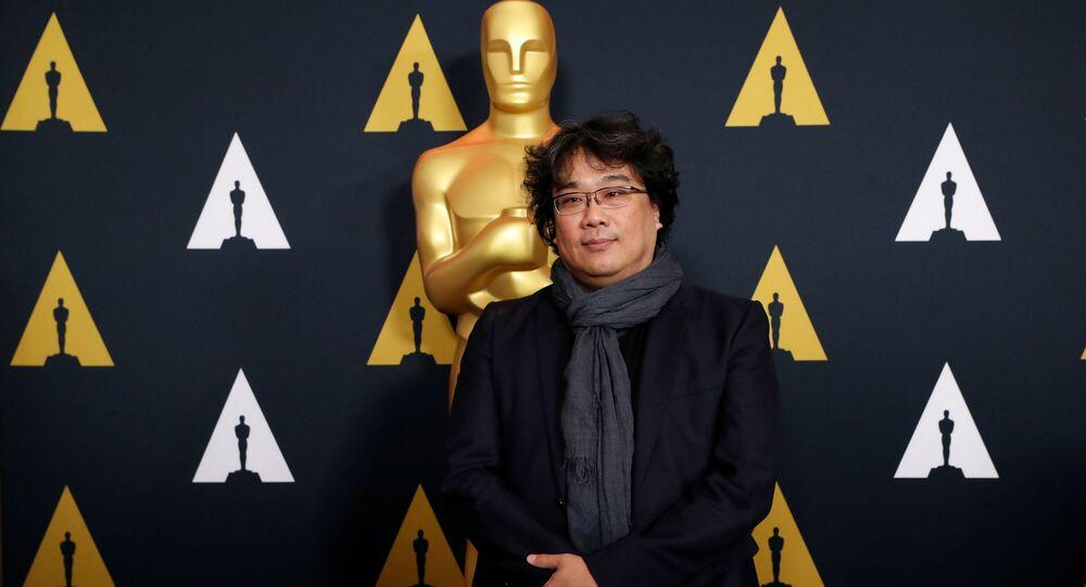 Il regista sudcoreano Bong Joon-ho del film Parasite, Oscar 2020
